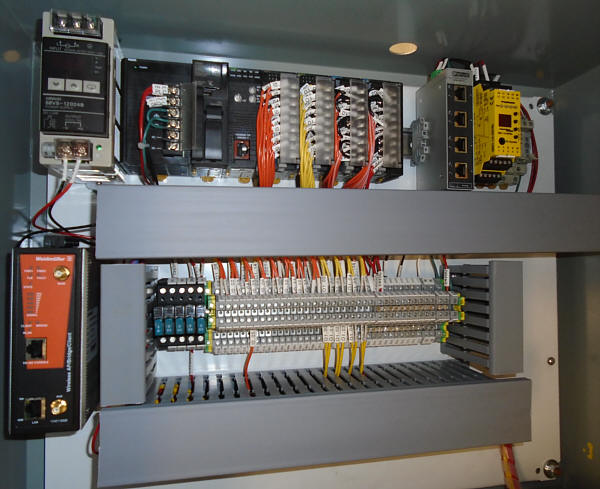 control panel systems electrical wiring design construction rh mustangcontrols com control panel wiring colors control panel wiring colors